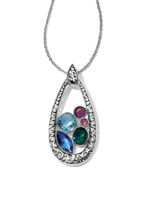 Elora Gems Vitrail Pendant Necklace