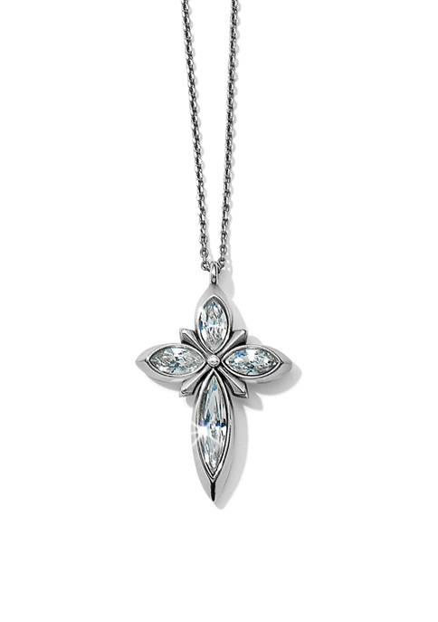 Spear Cross Necklace