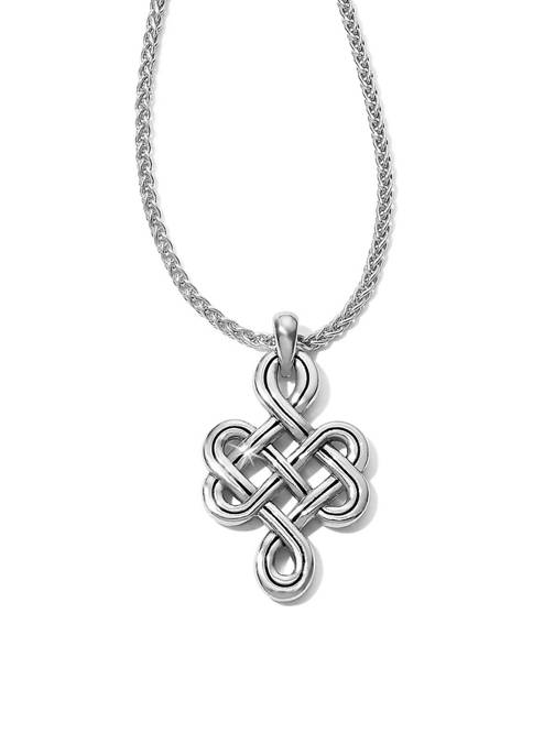 Brighton® Interlok Endless Knot Petite Necklace