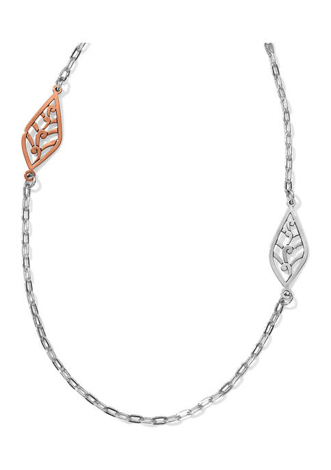 Brighton® Barbados Leaves Light Long Necklace