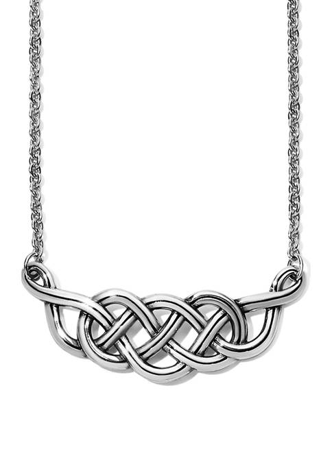 Brighton® Interlok Braid Collar Necklace