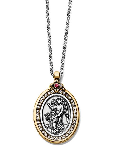 Brighton® Guardian Angel Two-Tone Pendant Necklace