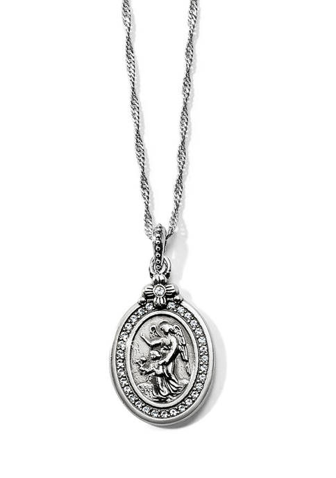 Brighton® Guardian Angel Petite Necklace