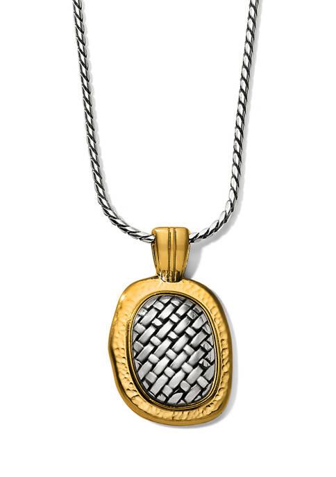 Brighton® Ferrara Artisan Two Tone Pendant Necklace