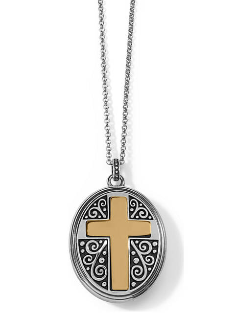 Brighton® Crossroads Convertible Locket Necklace