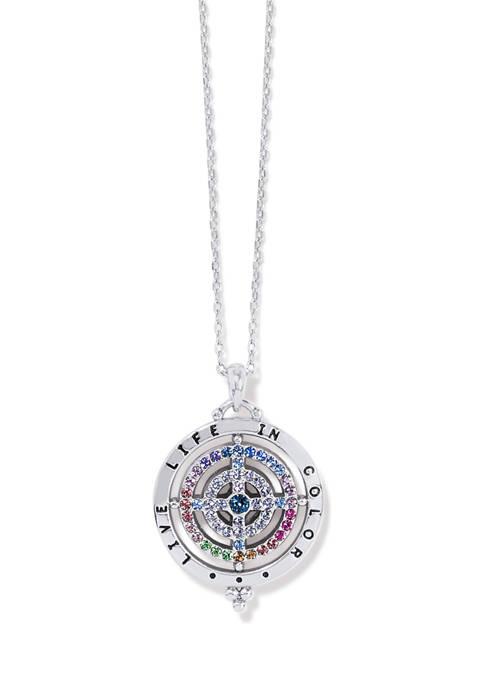 Color Drops Pendant Necklace