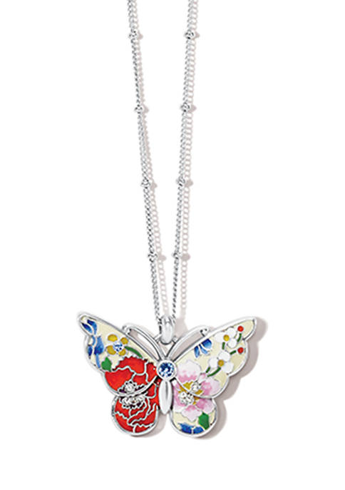 Blossom Hill Petite Butterfly Necklace