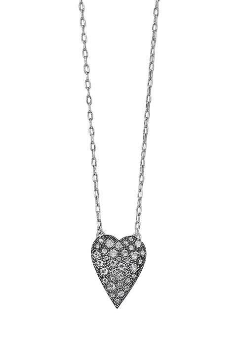 Glisten Heart Petite Necklace