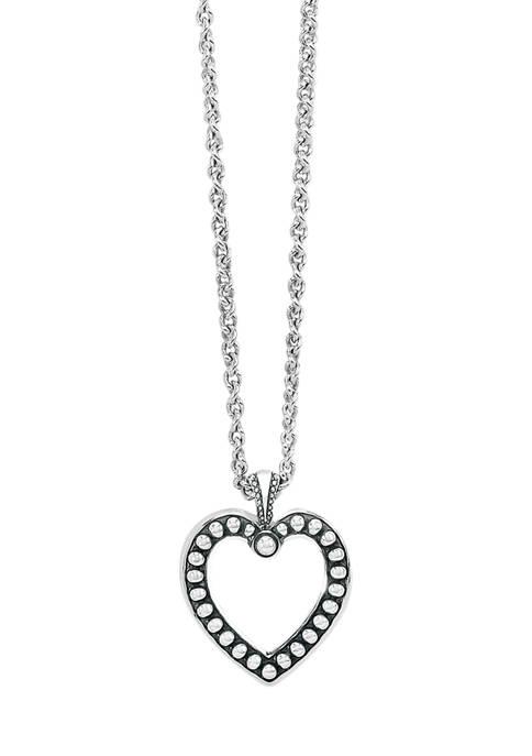 Brighton® Pretty Tough Open Heart Pendant Necklace in