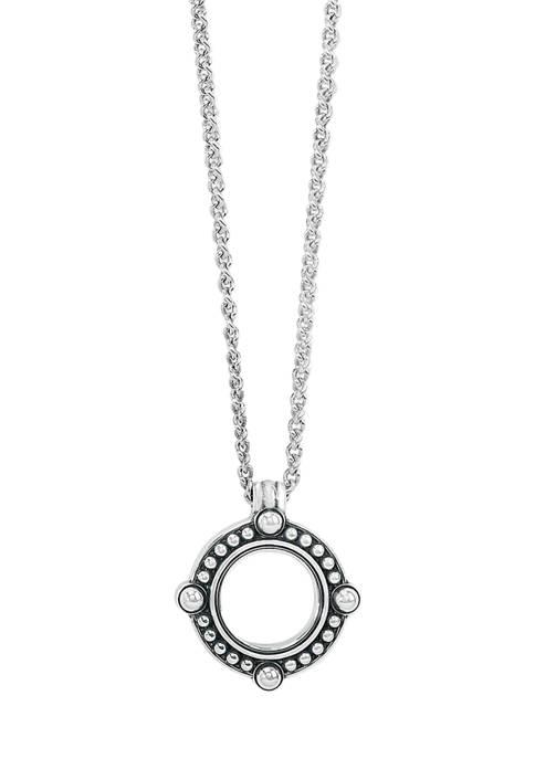 Brighton® Pretty Tough Open Ring Pendant Necklace in