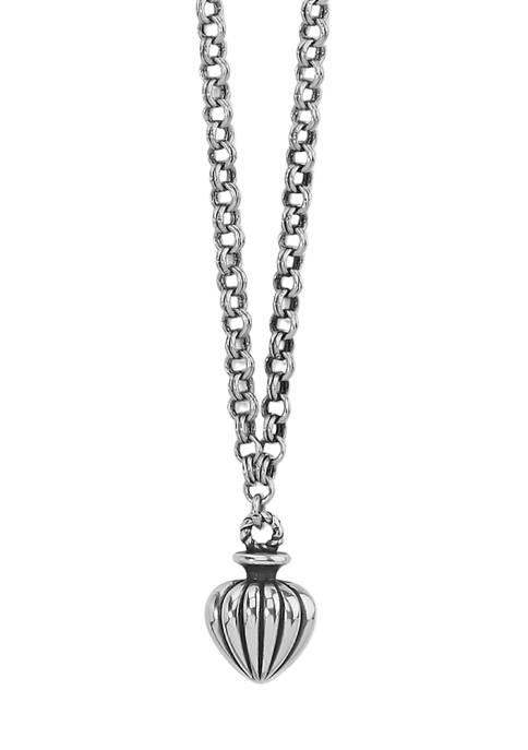 Brighton® Amphora Petite Pendant Necklace in Sterling Silver