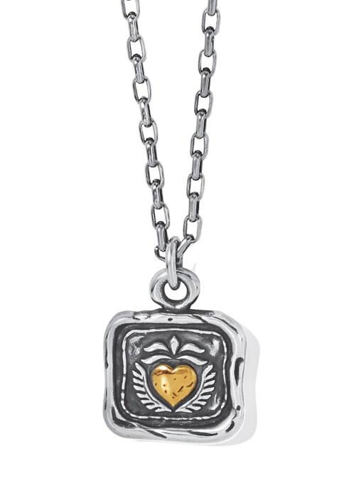 Brighton® Ferrara Virtue Winged Hearted Pendant Necklace
