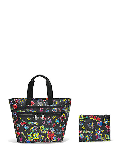 Brighton® Love Scribble Lock It Super Tote