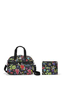 69124069b5 Samsonite® Openroad Weekender Backpack · Brighton® Love Scribble Jetsetter  Duffle