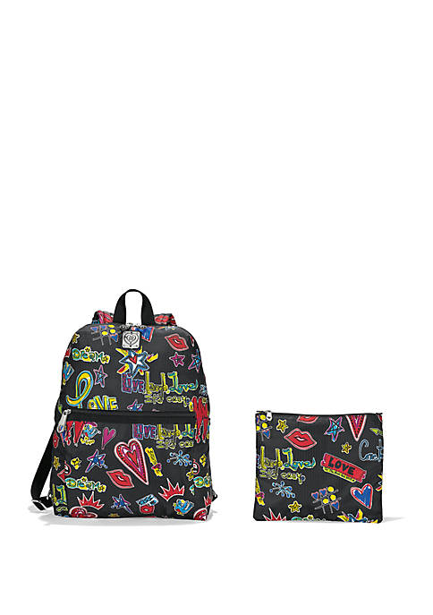 Love Scribble Happy Trails Backpack