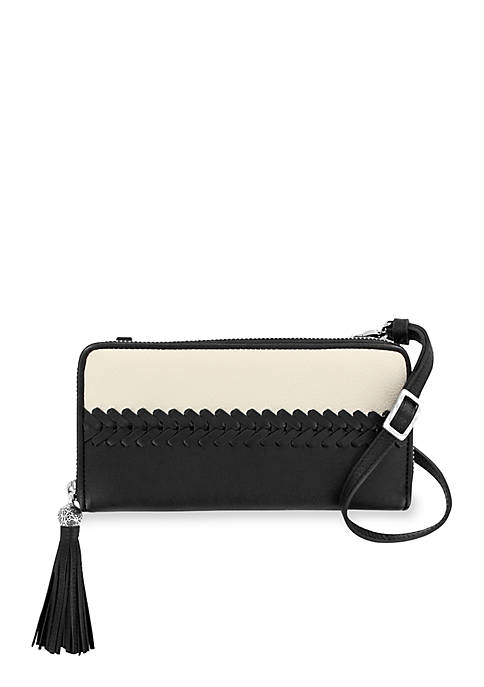 Brighton® Colorblock Zip Wallet