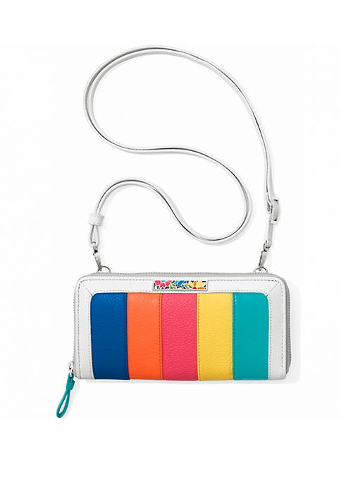Brighton® Suncatcher Color Block Zip Wallet