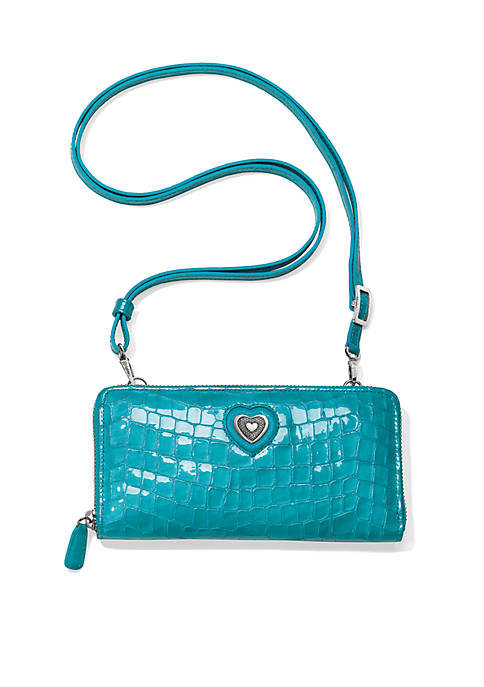 Brighton® Bellissimo Heart Large Wallet Shoulder Bag
