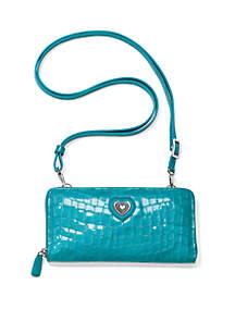 Bellissimo Heart Large Wallet Shoulder Bag