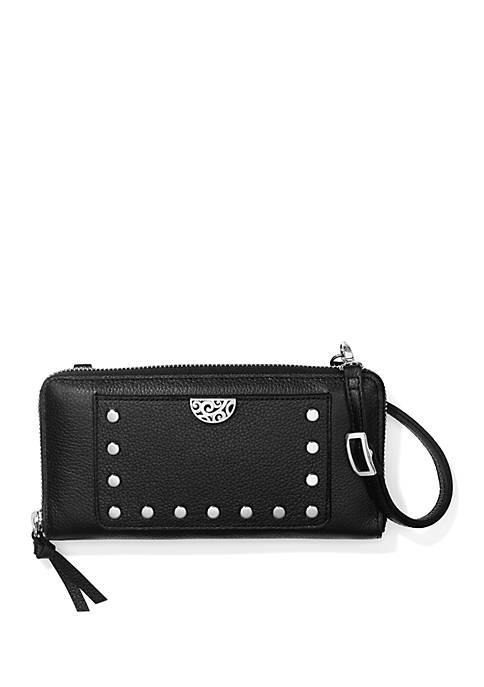 Brighton® Pretty Rough Rox Large Zip Wallet