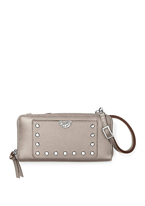 Brighton® Pretty Tough Rox Large Zip Wallet