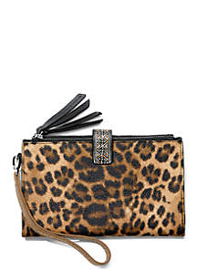 Brighton® Africa Stories Double Zip Wallet