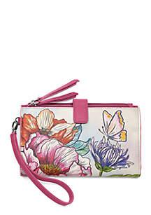 Brighton® Enchanted Garden Double Zip Wallet