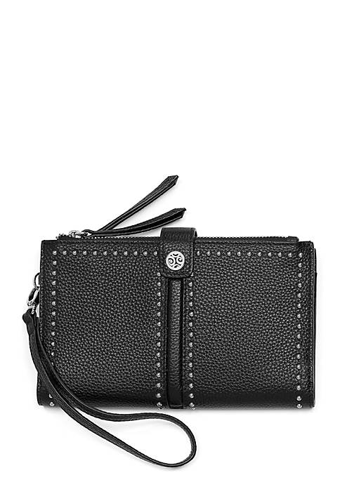 Brighton® Pretty Tough Double Zip Wristlet