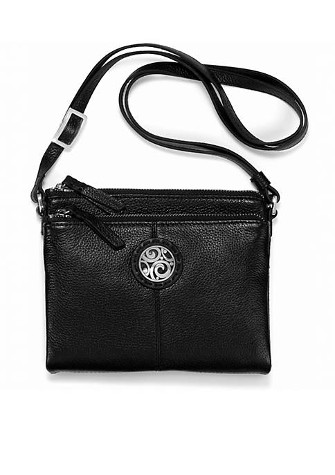 Brighton® London Groove Double Zip Organizer Crossbody