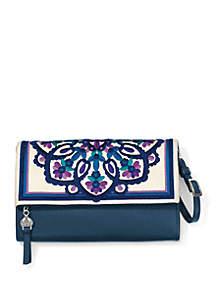 Casablanca Jewel Embroidered Flap Organizer