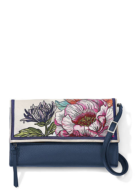 Brighton® Enchanted Garden Flap Crossbody