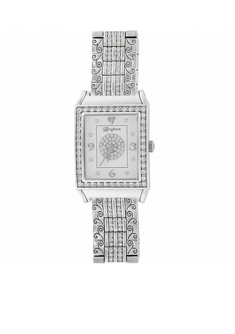 Womens Diamond Bar Watch