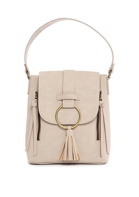 Convertible Mini Backpack Bucket Bag