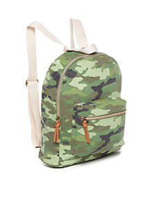 Medium Canvas Backpack
