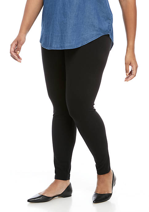 HUE® Plus Ultra Wide Waistband Legging