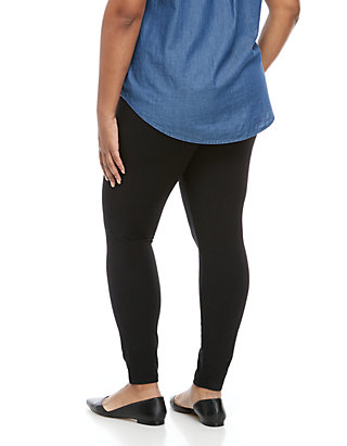 2ad0f8703b3deb HUE® Ultra Wide Waistband Leggings HUE® Ultra Wide Waistband Leggings ...