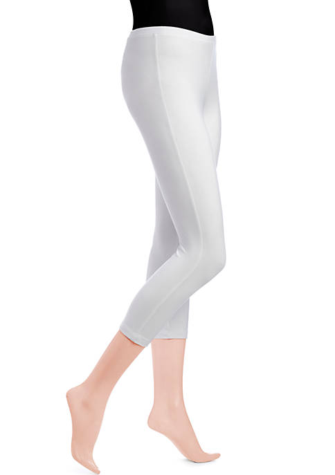 HUE® Cotton Capri Leggings