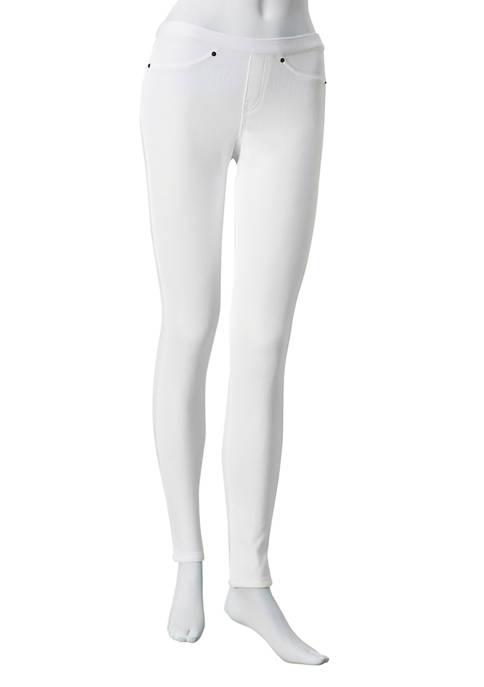 HUE® Original Denim Leggings