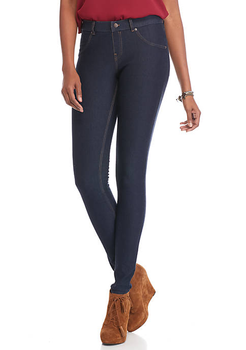 HUE® Tall Essential Denim Leggings