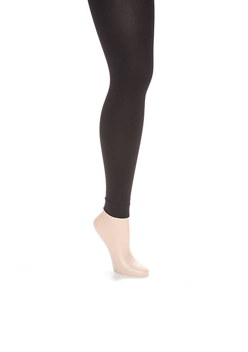 HUE® StyleTech Blackout Footless Tights