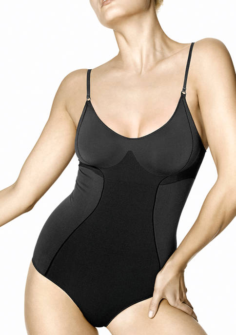 HUE® Womens Seamless Shaping Bodysuit
