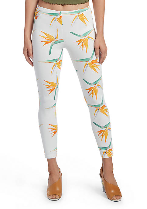 HUE® Tropical Floral Simply Stretch Skimmer