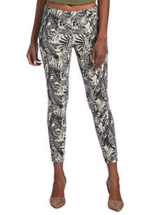 Palm Tree Simply Stretch Skimmer Legging