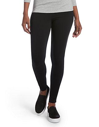 047d3871e38690 HUE® Criss Cross Cotton Leggings | belk