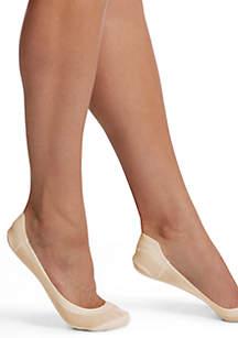 HUE® Hidden Cotton Perfect Edge Liner Socks