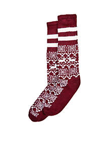Cowgirl Boot Sock