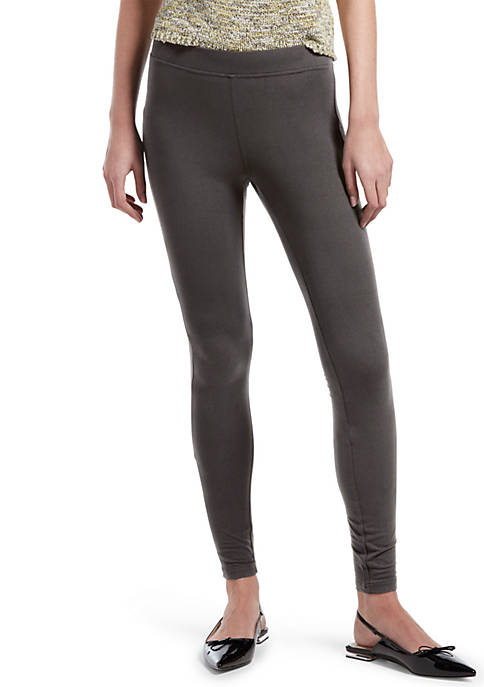 HUE® Brushed Jersey Leggings