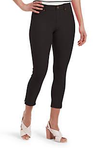 097f34f8905 Bandolino Bella Leggings · HUE® Ankle Slit Essential Denim Capri Leggings