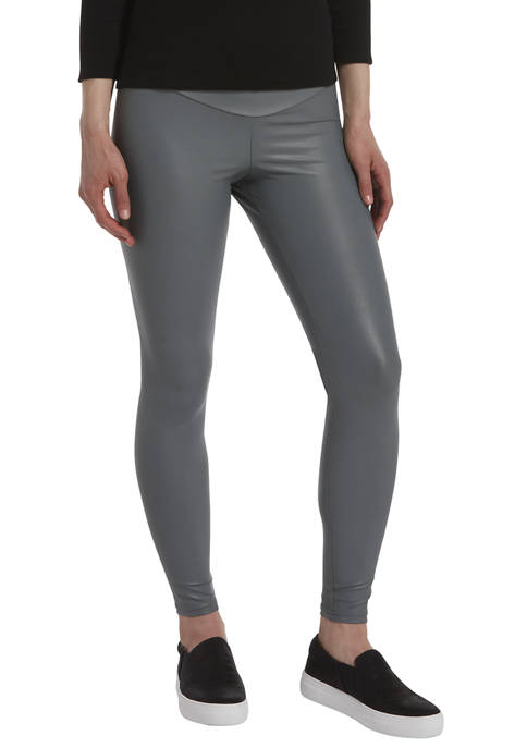 HUE® Womens Body Gloss Leggings