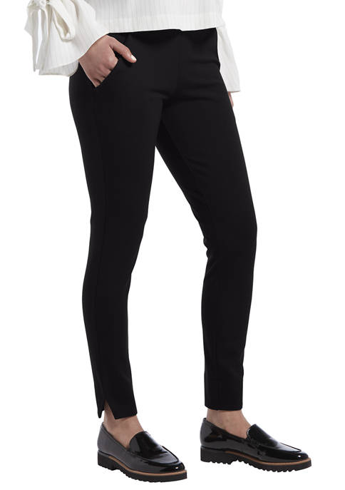 HUE® Womens Ponte 7/8 Leggings